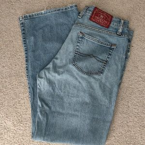 Lucky Brand Rider Relaxed Fit Denim Jeans 30 / 10